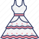 clothes, clothing, dress, fashion, marriage, wedding icon