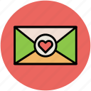 envelope, love letter, love message, wedding greeting, wedding letter icon