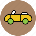 car, lamborghini, roofless car, transport, vehicle icon