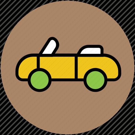 car, lamborghini, roofless car, transport, vehicle icon