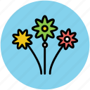bunch of flowers, decoration flower, flowers, rose flowers, wedding flowers icon