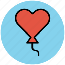 balloon, celebration, love balloon, wedding balloons icon