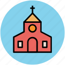 chapel, church, house of worship, oratory building icon