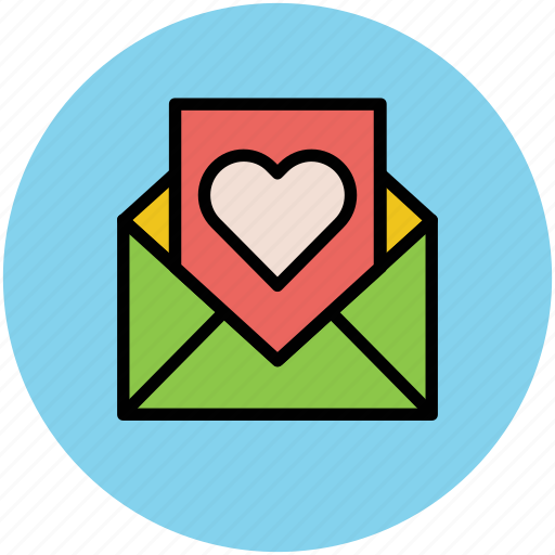 envelope, letter, love letter, lover letter, romantic letter icon