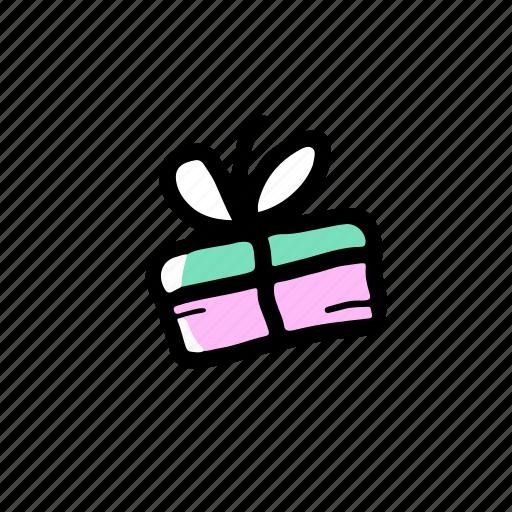 elements, gift, hand drawn, wedding icon