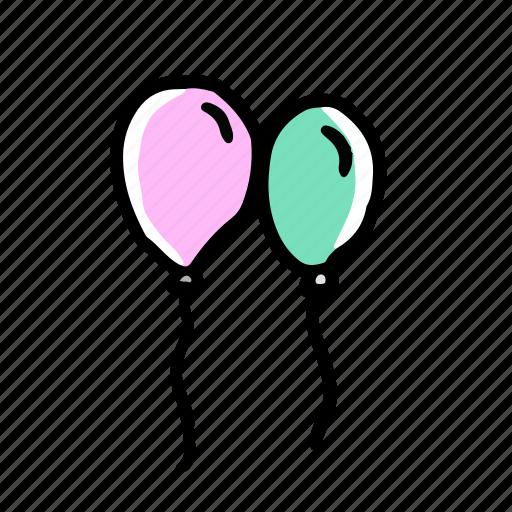 Balloon, elements, wedding icon - Download on Iconfinder