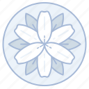 flower, flowers, iris, marriage, wedding icon