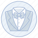 groom, groomsmen, marriage, suit, tuxedo, wedding icon