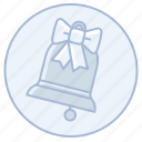 bells, bow, marriage, wedding, wedding bells icon