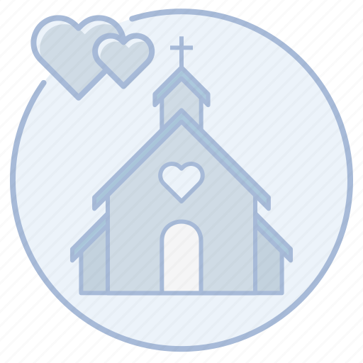 cathedral, chapel, christian, church, marriage, wedding icon
