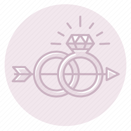 Arrow, diamond, engagement, marriage, ring, wedding icon - Download on Iconfinder