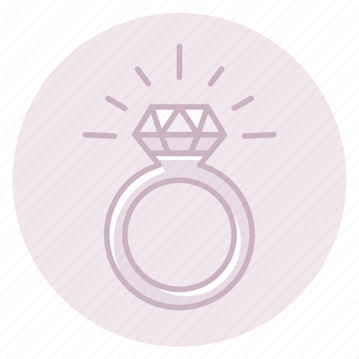 Diamond, engagement, marriage, ring, wedding icon - Download on Iconfinder