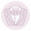 groom, groosmen, marriage, tuxedo, wedding icon