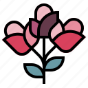 blossom, botanical, bouquet, flowers, nature icon