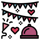 birthday, celebration icon