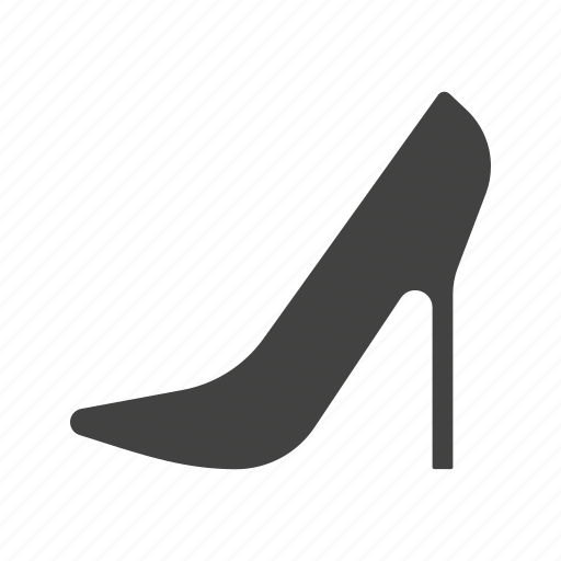 fashion, female, heel, heels, ladies, modern, red icon
