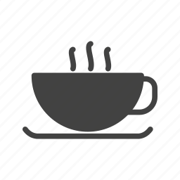 brown, cafe, caffeine, coffee, cup, drink, hot icon