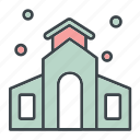 chapel, church, honeymoon, wedding