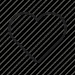 card, design, heart, hearts, love, red, single icon