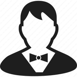 avatar, groom, man, user icon