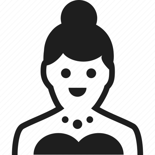 avatar, bride, user, woman icon