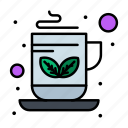 breakfast, coffee, green, tea icon