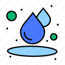 drop, humid, water