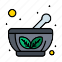 bowl, herbal, saucer icon