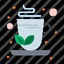 green, herbal, infusion, tea icon