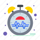 beat, heart, pulse, time icon