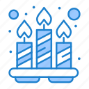 candles, relaxation, spa, tray icon