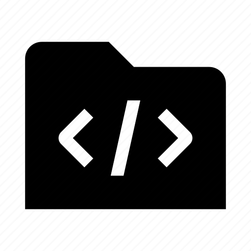 code, coding, development, folder, programming, web icon