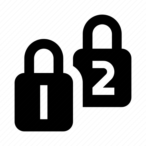 double, locks, protection icon