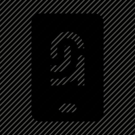 auth, fingerprint, id, secure, smartphone icon