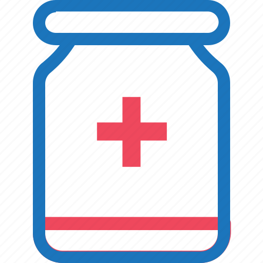 bottle, health, healthy, medical, medicine, pills icon
