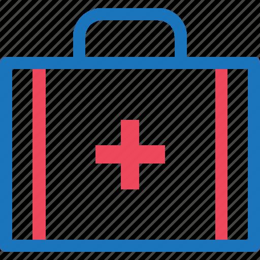 bag, briefcase, health, healthy, medical, medicine icon