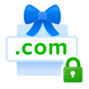 domain, free, gift, included, present, privacy, whois icon