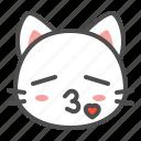 avatar, cat, cute, face, kiss, kitten