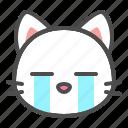 avatar, cat, cry, cute, face, kitten