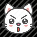 avatar, cat, cute, face, kitten, serious