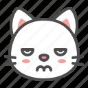 angry, avatar, cat, cute, face, kitten