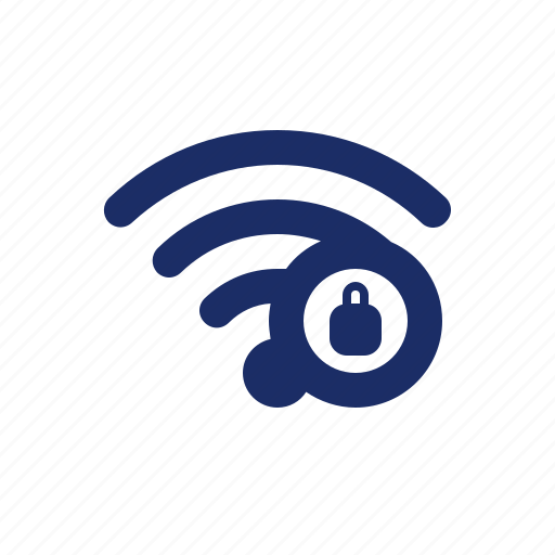 Connection, internet, lock, locked, network, online, wifi icon - Download on Iconfinder