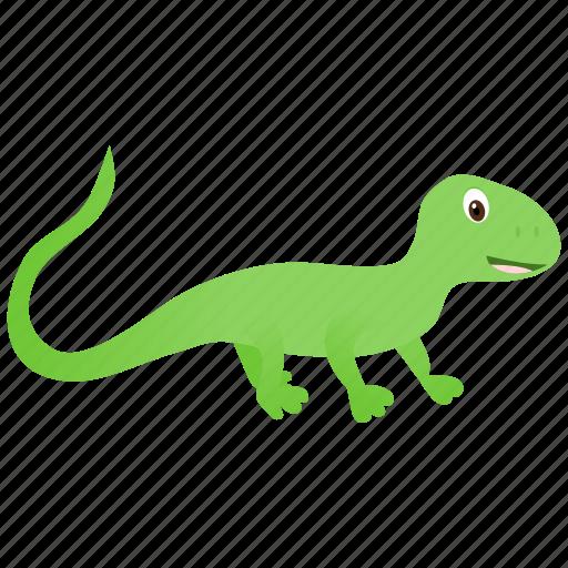 domestic, green, lizard, wild icon