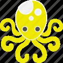 animal, mollusk, octopus, sea, squid, tentacle, venom