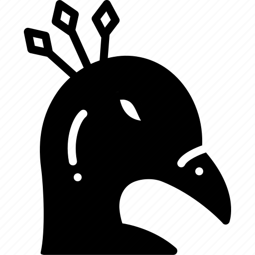 bird, face, peacockanimals icon