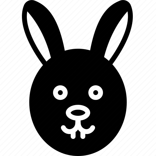 Animal, conejo, face, rabbit icon - Download on Iconfinder