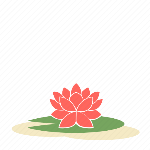 Ecology, floral, flower, garden, lotus, nature, plant icon - Download on Iconfinder