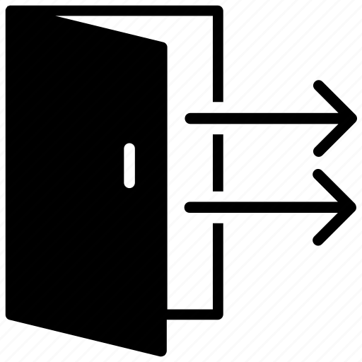Entrance, entryway, exit door, house door, house entrance icon - Download on Iconfinder