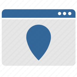 app, application, geo, gps, location, point, window icon