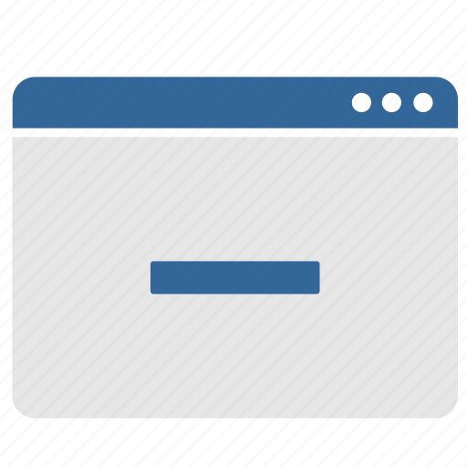 app, application, cut, erase, minus, window icon